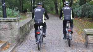 Straż miejska rowery