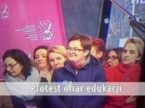 Protest ofiar