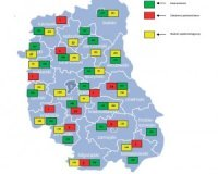 Sanepid - mapa